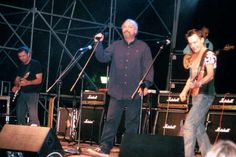 Intervista ad Eugenio Finardi prima del concerto: La Notte delle Chitarre al Giardino Inglese di Palermo - 20/06/2004