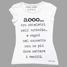 T-shirt Kris-n-kris slogan