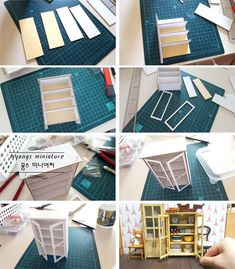 DIY Barbie furniture and DIY Barbie house ideas how to make dollhouse sofa Miniature Crafts, Miniature Houses, Miniature Dolls, Diy Barbie Furniture, Diy Dollhouse Furniture Easy, Dollhouse Tutorials, Dollhouse Ideas, Doll House Plans, Doll House Crafts