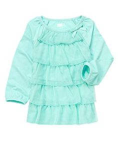 Tulle Ruffle Tiered Top (Crazy 8 3m-5y)