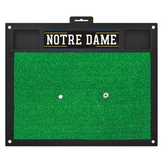 Notre Dame Fighting Irish Golf Practice Mat