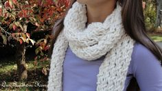 Phydeaux Twist Chunky Scarf {Knitting Pattern} | Our Southern Home