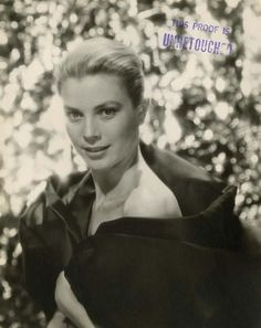 Grace Kelly, un-retouched by Bud Fraker