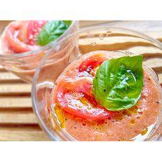 クミタス レシピ トマトのカスバチョ風スムージー