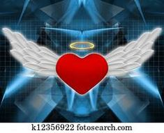 Angel heart Hummingbird Wings, Angel Illustration, Black Angel Wings, Free Angel, Angel Heart, Religious Symbols, Wings Design, Free Cartoons