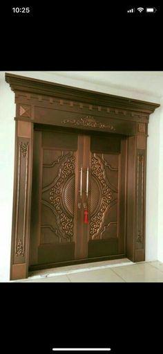 52 New Ideas Glass Door Exterior Decor Double Door Design, Wooden Front Doors, Wooden Door Design