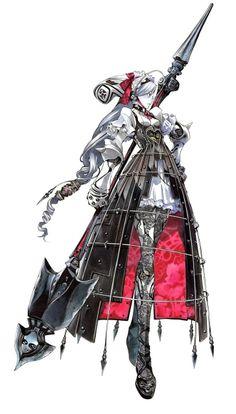 Ashlotte from Soul Calibur