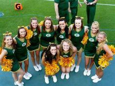 Green Packers cheerleaders & girls- 14