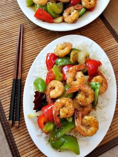 This Super delicious Black Pepper Shrimp stir fry is packed with plenty of fibrous vegetables and enough protein to satisfy your hunger. Shrimp Stir Fry, Chicken Stir Fry, Savoury Recipes, Diet Recipes, Black Pepper Chicken, Pepper Shrimp, Delicious Food, Dinner Ideas, Fries