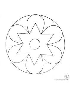 Disegno: Mandala 2. Disegni da colorare e stampare gratis per bambini. Puoi stampare, scaricare il disegno o guardare gli altri disegni simili a questo. disegnidacolorareonline.com.