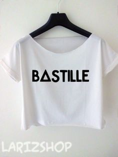 bastille band cropped tee tumblr pompeii of the night by larizshop, $16.00