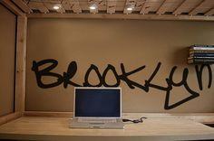 Vinyl Wall Art Decal Sticker Brooklyn Graffiti NYC by Stickerbrand, $19.95