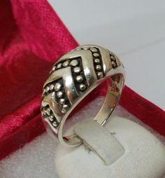 925er+Silberring+mit+Punktmuster+19,6+mm+SR511+von+Atelier+Regina++auf+DaWanda.com