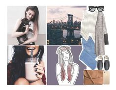 """""""Air"""" by iarsotelo on Polyvore featuring moda, H&M, Vans, Pieces y Retrò"""
