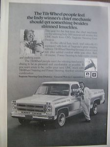 1975 GMC Pick Up Official Indy 500 Truck