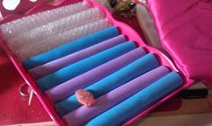 Razz Ace: DIY Ring Holder (with bubble wrap or pillow stuffing and foam sheets covered with fabric)