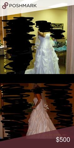 Wedding dress size 12 Selling a lace up size 12 wedding dress. It has been professionally cleaned and everything!!!! Dresses Wedding
