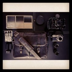 What's In Daniel Kennedy's Leather Brixton Bag // #InMyONA Instagram Contest