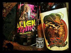 L'Alien Claw de chez Naparbier, une Belgian IPA espagnole..Au Consulat de la Bière. Ipa, Bottle, Drinks, Spanish, Drinking, Beverages, Flask, Drink, Jars