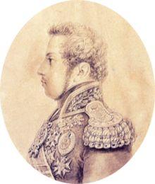 D.Pedro IV em 1823, por Jean-Baptiste Debret.