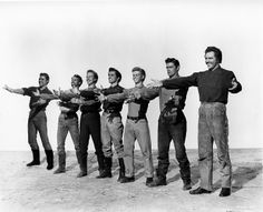 """""""Seven Brides For Seven Brothers"""" (1954) - The Pontipee Brothers in a publicity shot"""