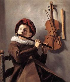 Judith Leyster (1609 – 1660, Dutch), Young Flute Player