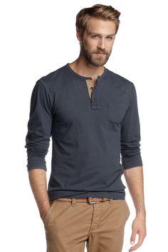 FLO T-shirt col tunisien EDC - Esprit - 30€ PNQ2HEFR