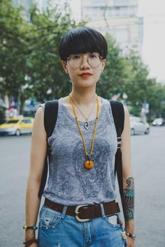 shanghai and hong kong, straight up!   Vivian Jiang, 35, Shanghai
