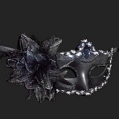 Pure Black Purfle Flower Plastic Half-face Mask #Lovejoynet #Mask #Party Halloween Fabric, Halloween Masks, Dark Mask, Mask Online, Half Face Mask, Buying Wholesale, Costume Accessories, Go Shopping, Household Items