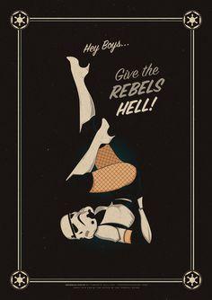 Storm trooper burlesque