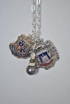 Scotland Souvenir Spoon Charm Necklace by andthenagaindesigns, $45.00