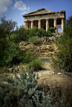 Ruins of Temple of Hephaistos in Athens, Greece © John Bragg Photography