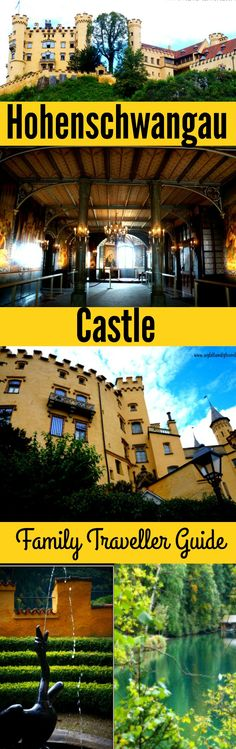 Hohenschwangau Castle way than just Neuschwanstein's neighbor. Family travel guide to this amazing Castle