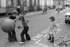 According to a 2012 survey, the happiest time to have been a child was the year 1976.  Despite a water shortage, strikes and high inflation, an extraordinary heatwave cast a spell over the nation, allowing children to play for hours outside.
