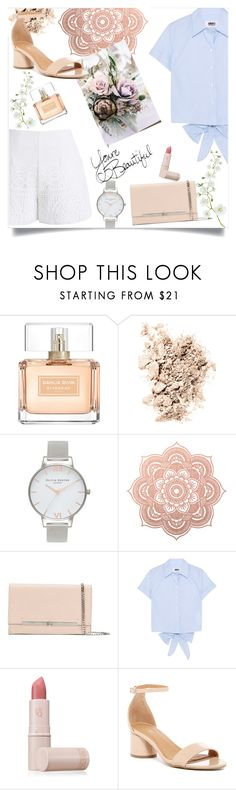 """simple elegance"" by emina-la ❤ liked on Polyvore featuring Givenchy, NARS Cosmetics, Olivia Burton, Casadei, MM6 Maison Margiela, Lipstick Queen, Abound and Chicwish"