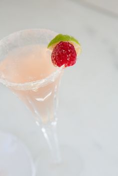 Pink Champagne Baby Shower Cocktail