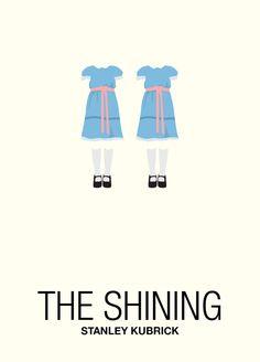 The Shining - Minimalistic Posters by Antonio Di Nardo, via Behance