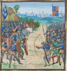 « Chroniques sire JEHAN FROISSART » Date d'édition :  1401-1500  Français 2643  Folio 218r