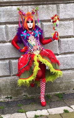 Cute Homemade Costumes, Diy Costumes, Cosplay Costumes, Halloween Costumes, Carnival Of Venice, Carnival Masks, Carnival Costumes, Halloween Karneval, Cute Clown