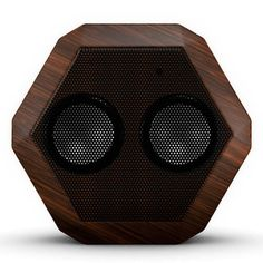 Boombotix Boombot REX Portable Water-Resistant Bluetooth Speaker - Wood Grain #BoomBotix