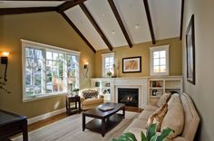 cabinets go up to the ceiling home decor i love Traditional Home Fireplace Ideas Stone Fireplace