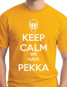 Keep Calm We Have #Pekka $20 buy your shirts today at www.Riverfrontstation.com @Riverfront Station Nashville Predators