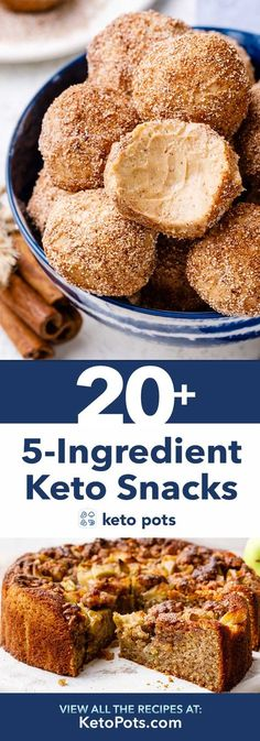 The holy grail for easy, low carb keto snack, dessert and meal ideas (save this awesome resource!) Ketogenic Diet Meal Plan, Keto Meal Plan, Ketogenic Recipes, Keto Recipes, Slimfast Recipes, Recipes Dinner, Cream Recipes, Whole30, Pollo Keto
