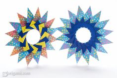 Tico Star - Diagram | Go Origami!