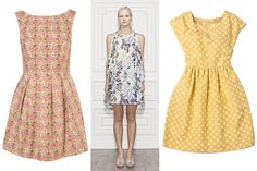 The Perfect Dress For Any Summer Event Brocade Dresses, Silk Dress, Blue Morpho, Beautiful Summer Dresses, Lemon Print, Pink Tulips, Summer Events, Paisley Dress