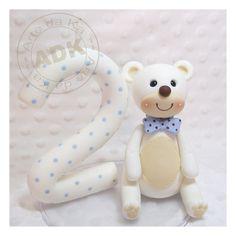 vela urso branco