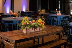 Brazos Hall Corporate Event Floral design— Wild Sky Events: Event Production Agency