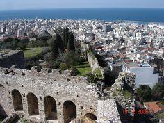 View from the castle of Patras, Greece Patras, Stavanger, Aarhus, Helsinki, Glasgow, Liverpool, Paris Skyline, Natural Beauty, City Photo