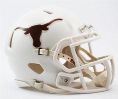University of Texas Longhorns Mini Riddell Speed Football Helmet