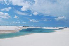 Lagoa Bonita - Lençois Park, Maranhão, Brazil.